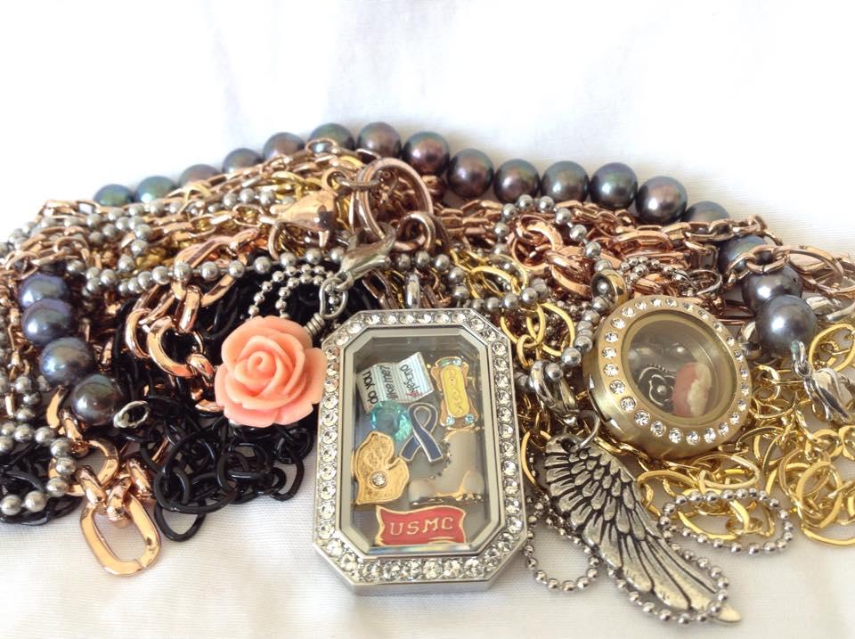 Claudia's heritage locket