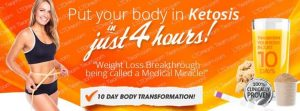 Put your body in ketosis