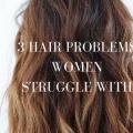 hair problems for women